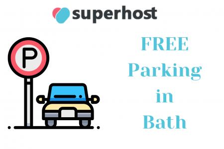 free parking in bath city